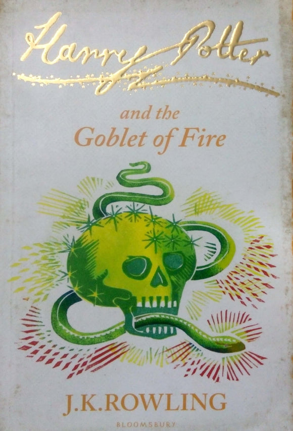 Harry Potter and the goblet of fire by J.K.Rowling