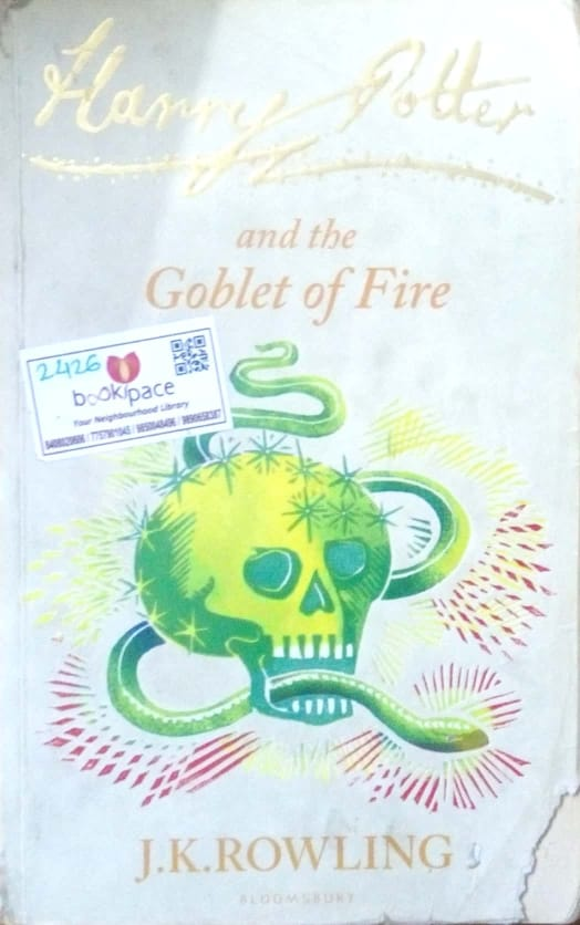 Harry Potter and the goblet fire by J.K.Rowling