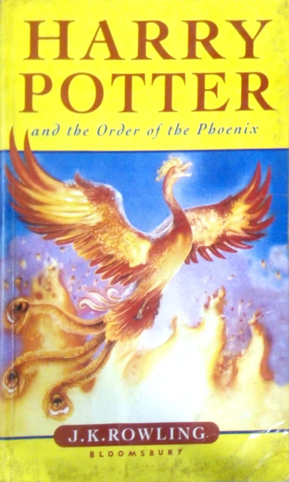 Harry Potter and the order of the phoenix by J.K.Rowling