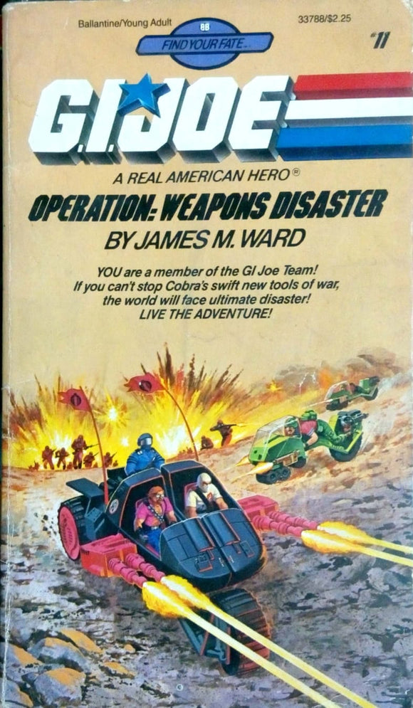 Operations: Weapons disaster by James Ward