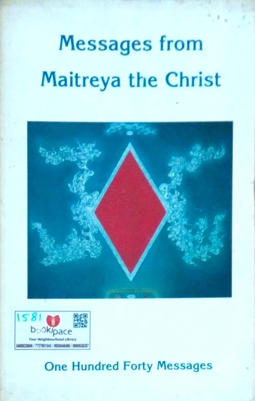 Message from maitreya the christ  by Benjamin Creme