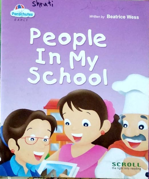 People in my school by Beatrice Wess