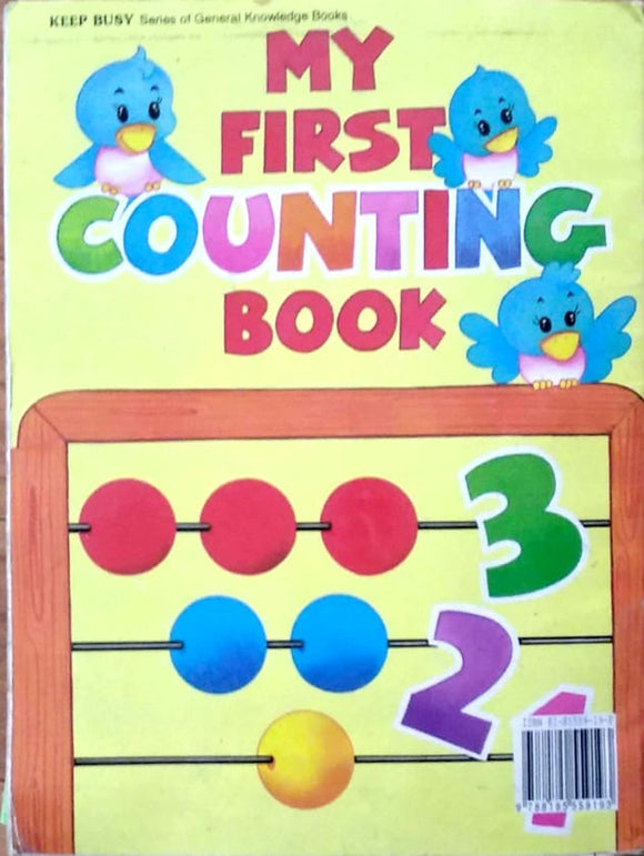 My first counting books