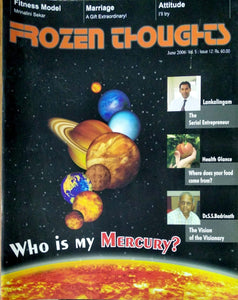 Frozen thoughts Jun 2006: Who is my Mercury?