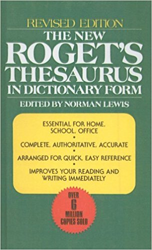 New Roget's Thesaurus in Dictionary Form by Norman Lewis