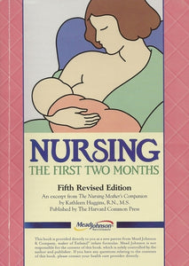 Nursing The First Two Months by Mead Johnson