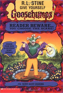 Secret Agent Grandma (Give Yourself Goosebumps #16 by R L Stine