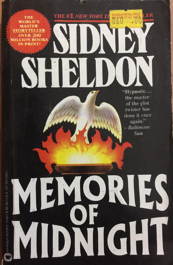 Memories Of Midnight, By Sidney Sheldon