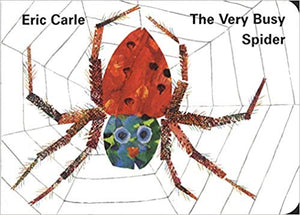 The Very Busy Spider Board book by Eric Carle