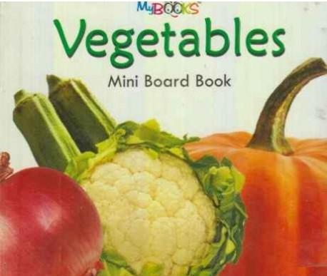 Mini Board Book of Vegetables