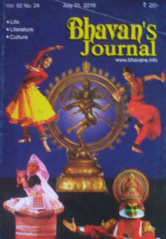 Bhavan's Journal July 31 2016 Vol 62 No 24