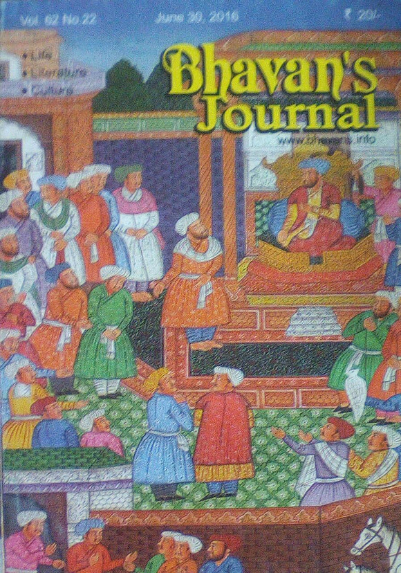 Bhavan's Journal June 30 2016 Vol 62 No 22