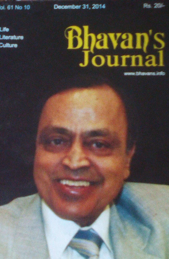 Bhavan's Journal December 31 2014 Vol 61 No 10