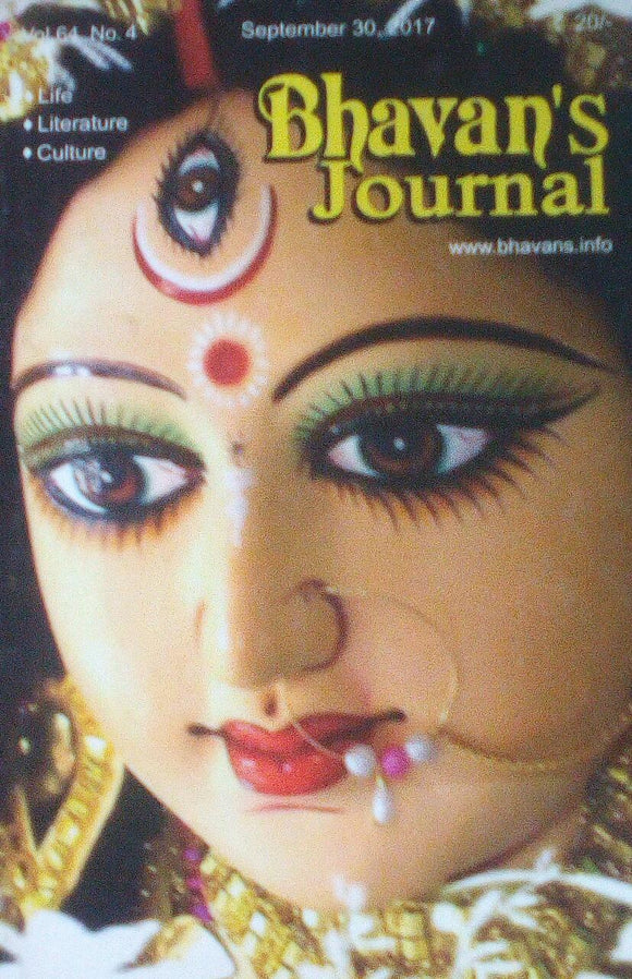 Bhavan's Journal September 30 2017 Vol 64 No 4