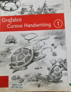 Grafalco Cursive handwriting