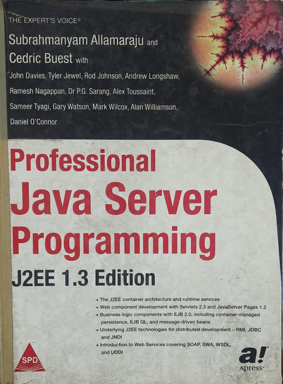 Professional Java Server Programming    J2EE 1.3 EDITION