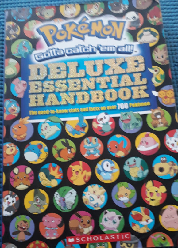 Pokemon - Deluxe Essential Hand Book