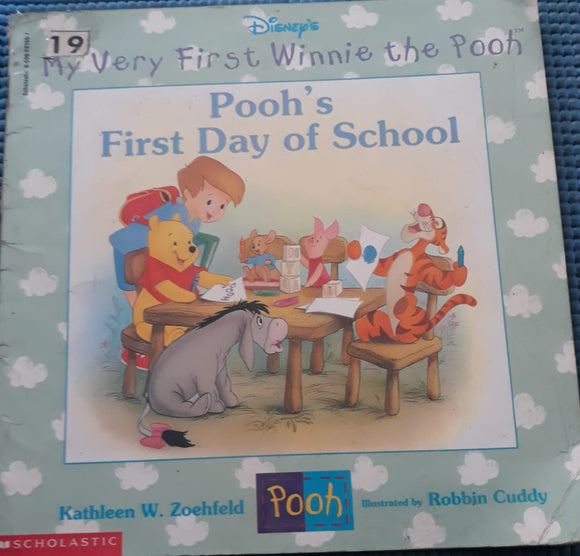 Disney's- Pooh's first day of school