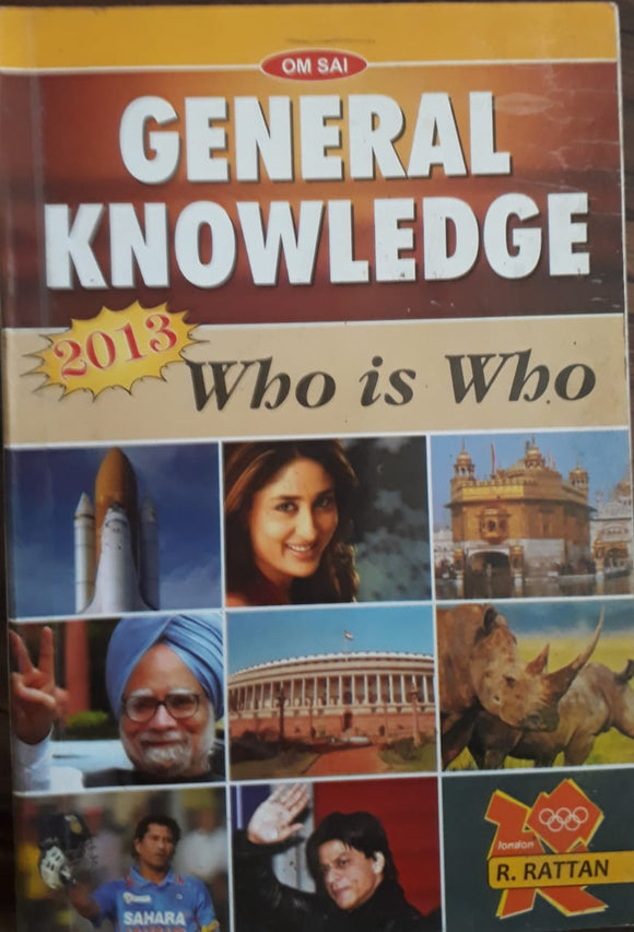 General Knowledge - 2013 Who is Who