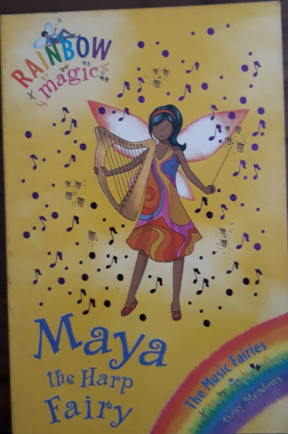 Rainbow Magic - Maya the Harp Fairy