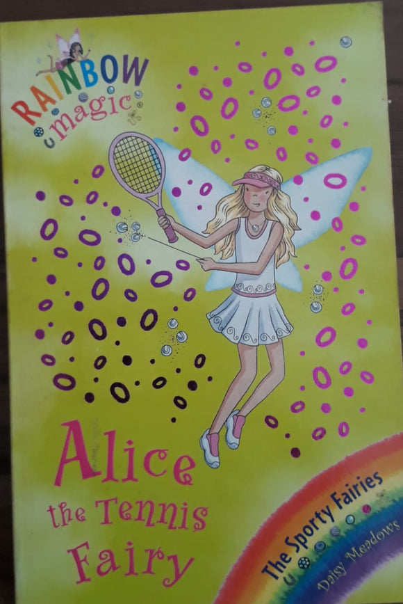 Rainbow Magic - Alice The Tennis Fairy