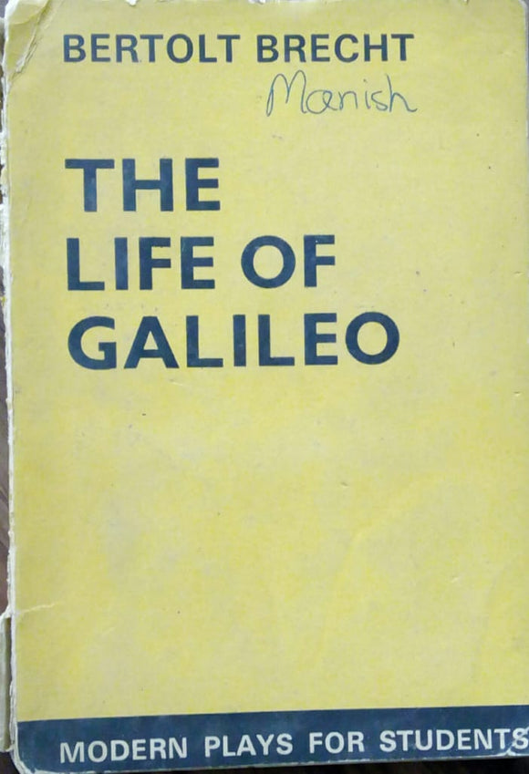 The Life Of Galileo by Bertolt Brecht