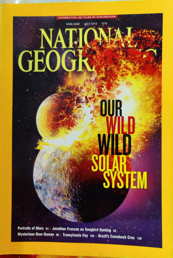 National Geographic July 2013