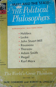 The Political Philosophers by Commins And Linscott