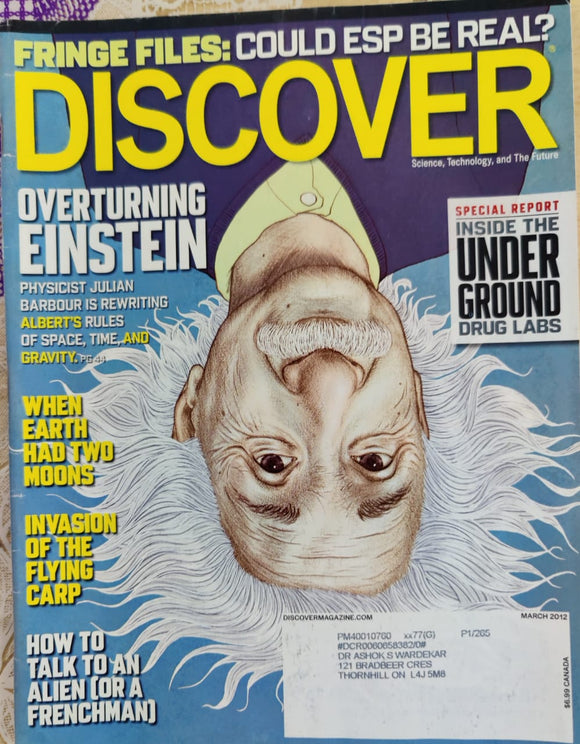 Discover March 2012