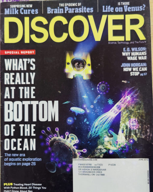 Discover June 2012