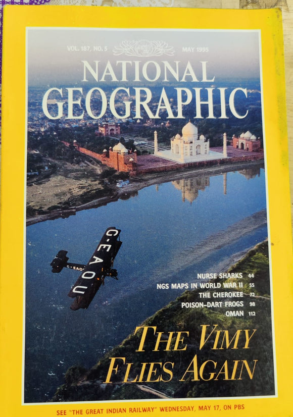 National Geographic May 1995