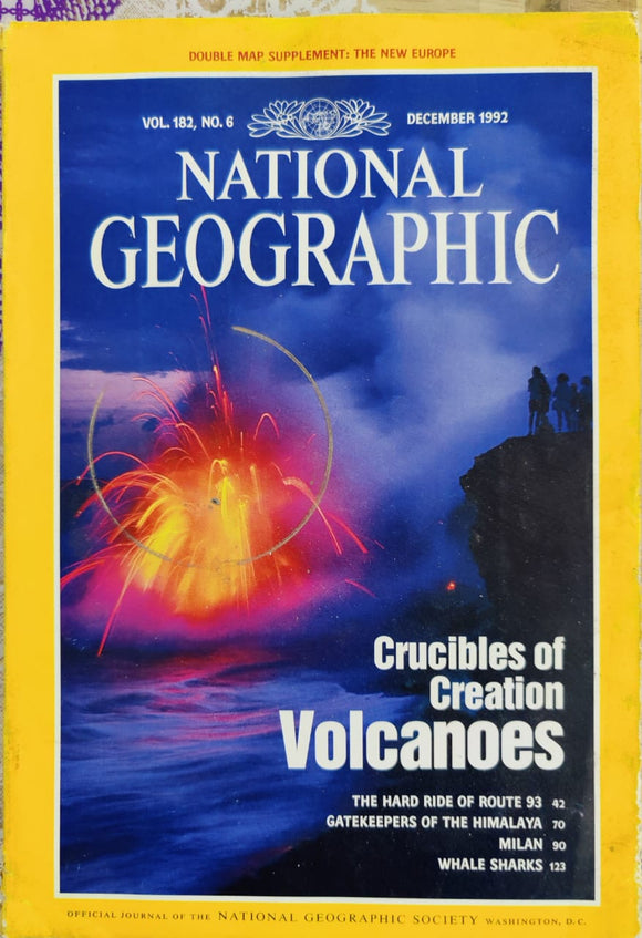 National Geographic December 1992