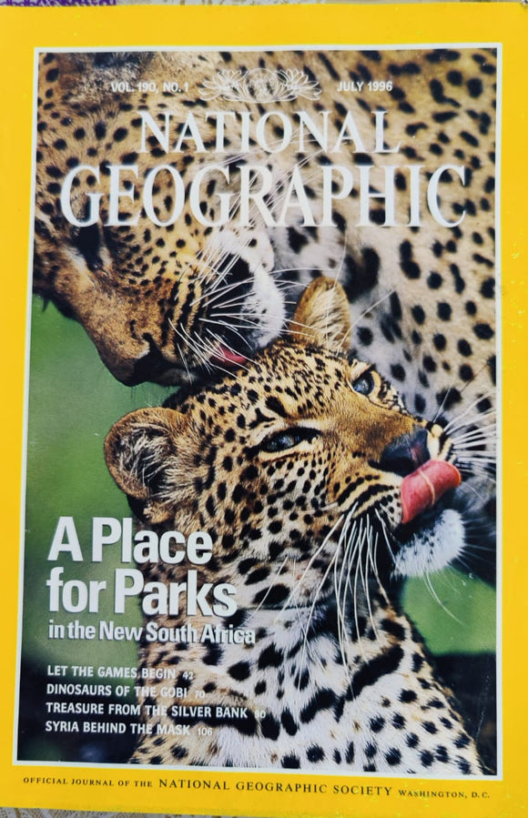 National Geographic July 1996