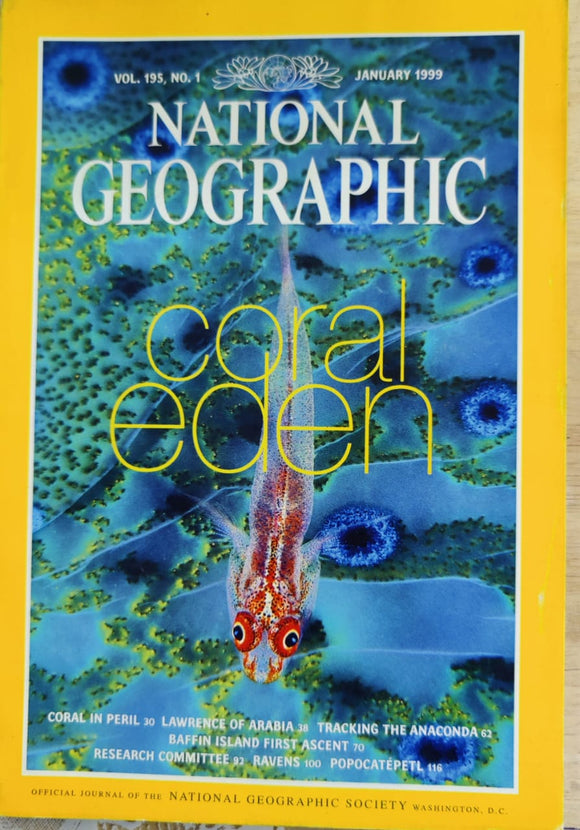 National Geographic January 1999