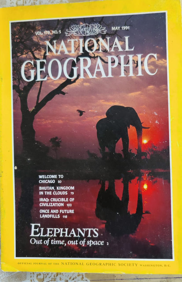National Geographic May 1991