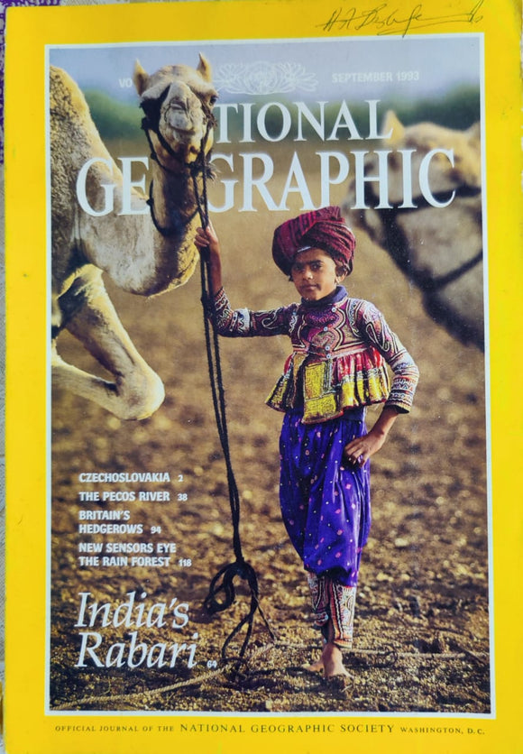National Geographic September 1993