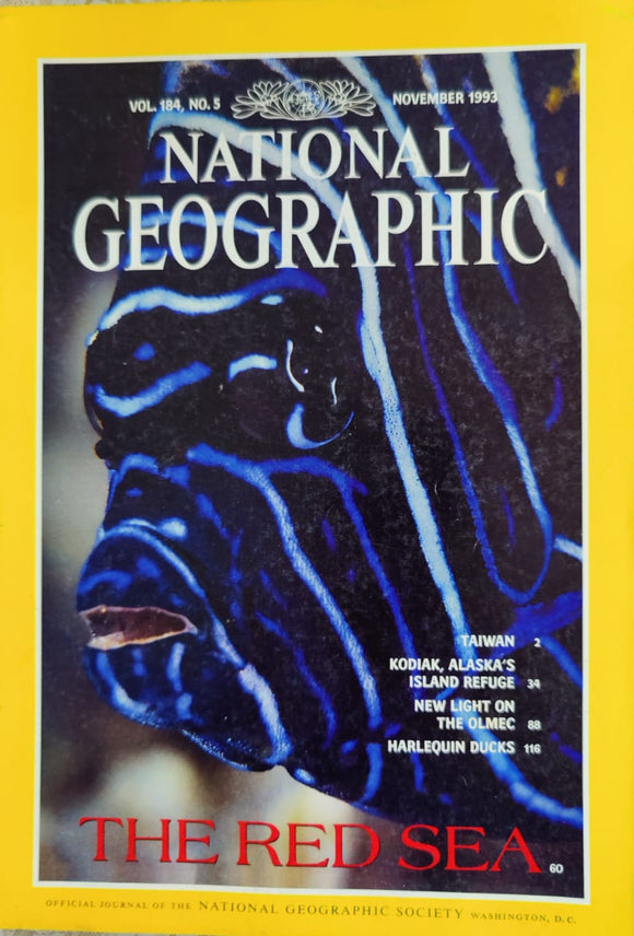 National Geographic November 1993
