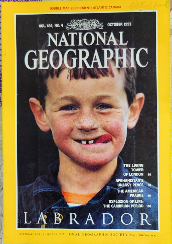 National Geographic October 1993