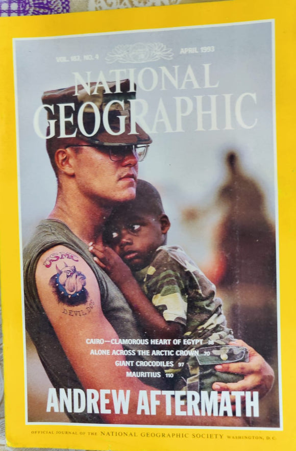 National Geographic April 1993