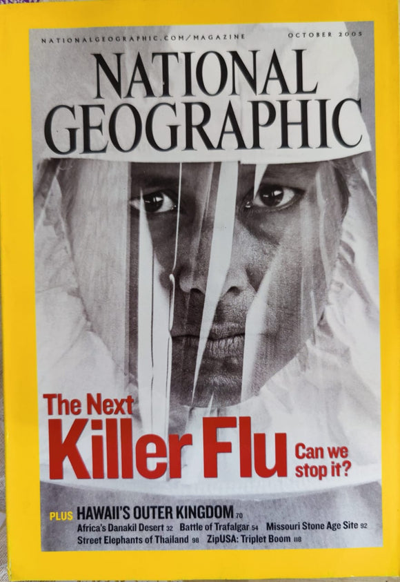 National Geographic October 2005