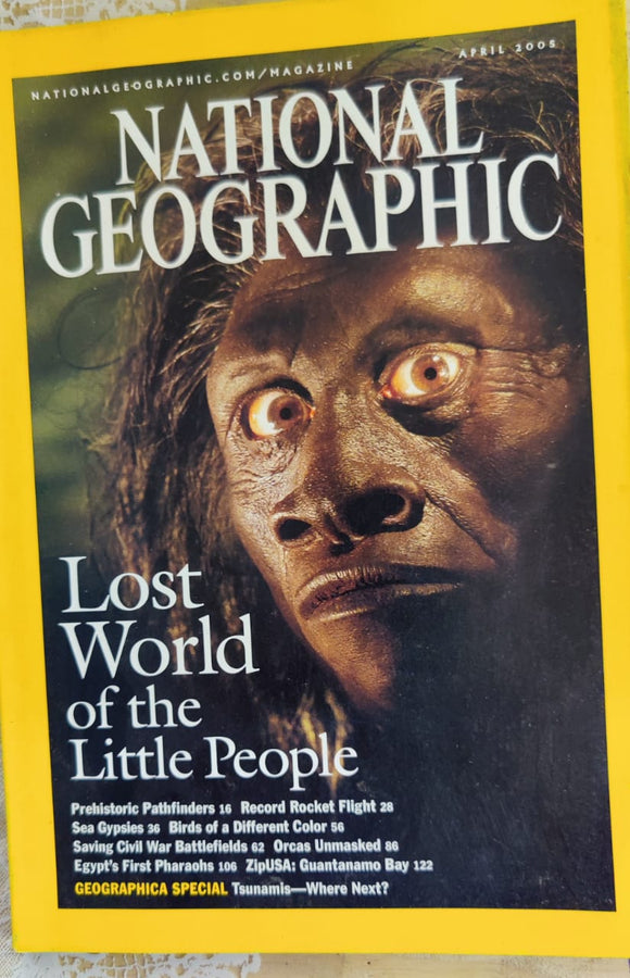 National Geographic April 2005