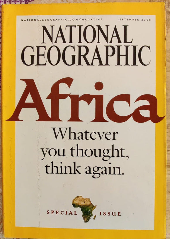 National Geographic September 2005
