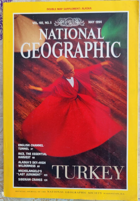National Geographic May 1994