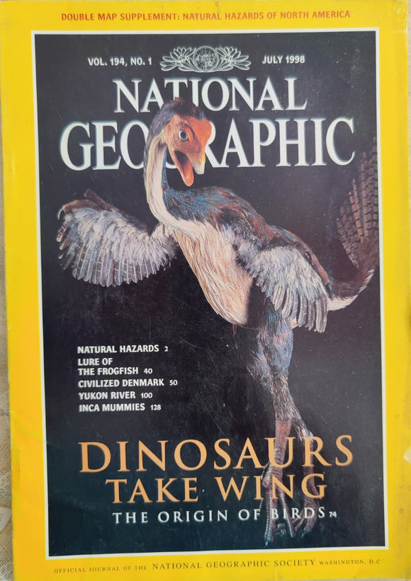 National Geographic July 1998