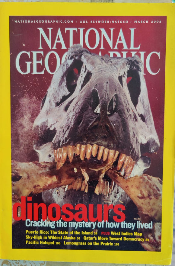 National Geographic March 2003