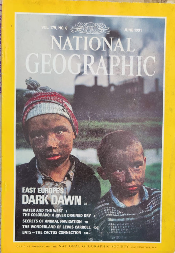 National Geographic June 1991