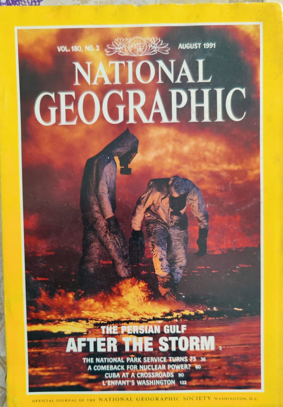 National Geographic August 1991