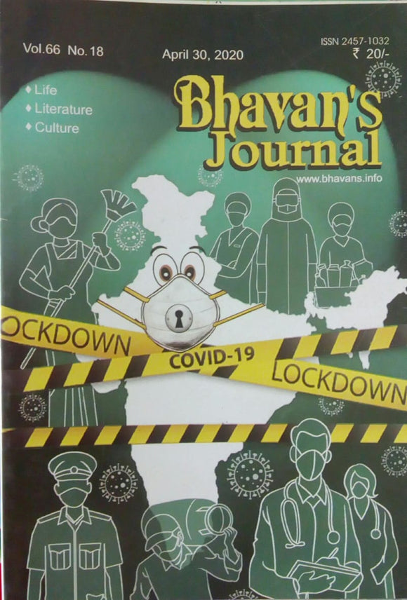 Bhavan's Journal Apr 30 , 2019 Vol.66 No.18