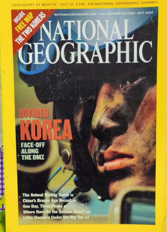 National Geographic July 2003