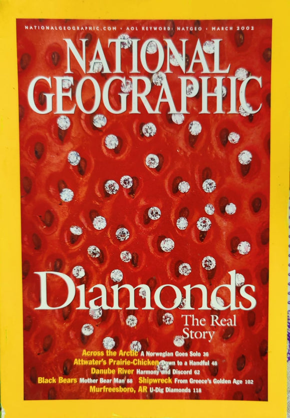 National Geographic March 2002